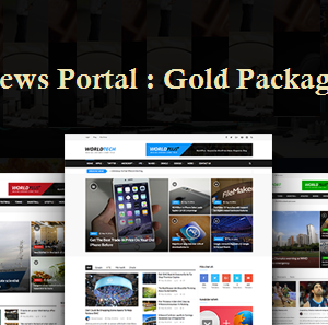 News Portal Gold Package