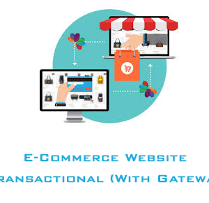 E-Commerce Website : Transactional With Payment Gateway