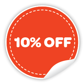 10% off Cupone for Prabhat Media Creations